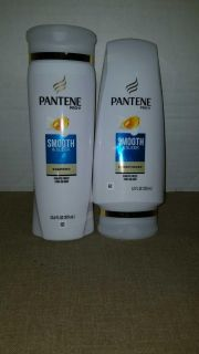 $3 set of pantene smooth and sleek shampoo and conditioner
