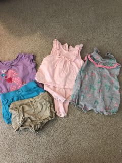 Mixed lot of baby clothes size 6-12 months