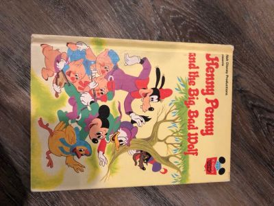 Hard cover Disney Henny Penny book