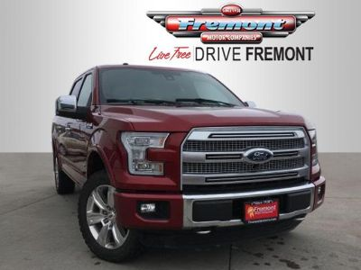 2015 Ford F-150 4WD SuperCrew 145 Platinum (Ruby Red Metallic Tinted Clearcoat)