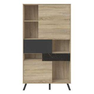 mercury row mid century modern bookcase
