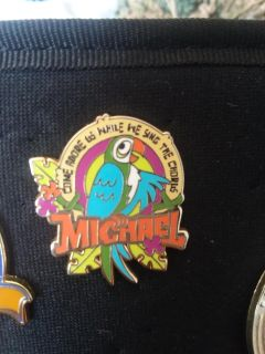 Tiki room bird pin