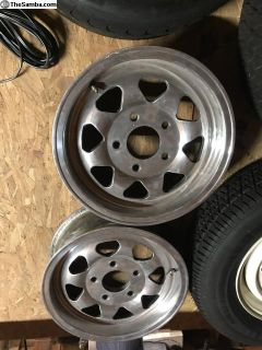 Set of 4 Dan Gurney Wheels - 15 x 5 1/2 - 5x130