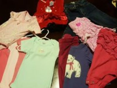 Clothes 6-9 months girls baby infant