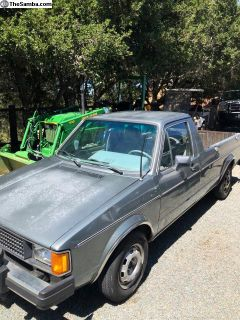1982 VW Rabbit diesel pickup