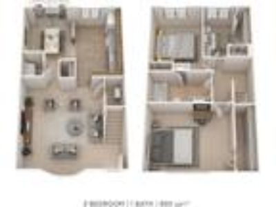 Cedar Gardens and Towers Apartments & Townhomes - 3 BR 1.5 BA Garden