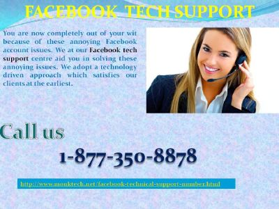 Don't dash Amok at FB Problems; Facebook Tech Support 1-877-350-8878 Is to Help You