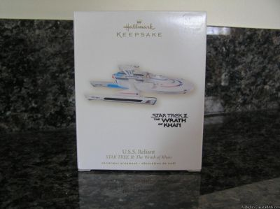U.S.S. Reliant STAR TREK II: The Wrath of Khan Hallmark Keepsake