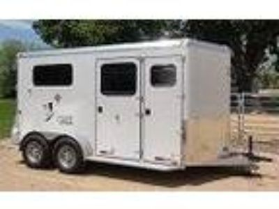 2019 Trailers USA TLT Straight Load DRX 2 horses