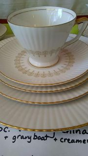 84 pc Wedding China and soft cases