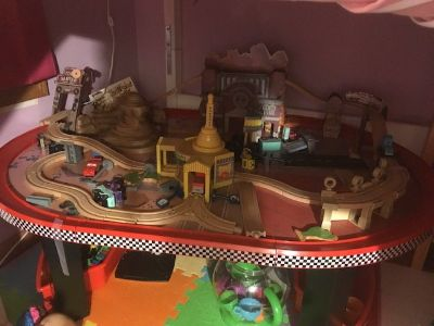 Radiator springs table
