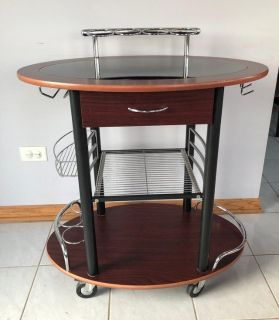 Beverage Cart/Wine Rack
