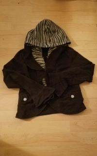 Girls Zip up Hooded Jacket size L