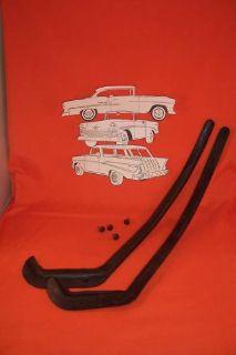 1955 1956 1957 Chevy Belair 210 150 Door Sill Plate Set 4 Door Sedan Wagon USA