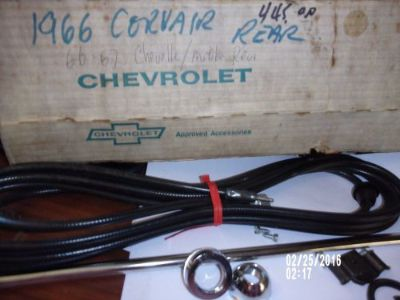 Purchase 1965-66,Chevrolet Corvair Radio Antenna kit REAR also 66-67 Chevelle NOS motorcycle in Denton, Georgia, United States, for US $465.00