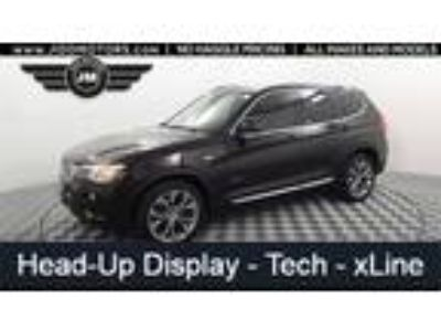 Used 2016 BMW X3 Brown, 53.6K miles