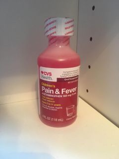 New - Children s pain and fever (Acetaminophen) 4 oz