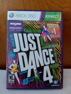 XBOX 360 KINECT. JUST DANCE 4