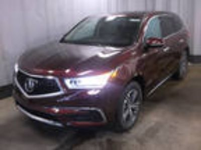 2017 Acura MDX Red