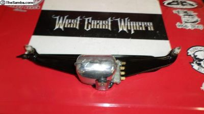 Restored 65-66 Bug wiper unit 12V NOS parts build