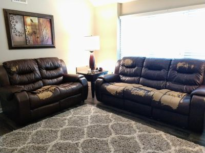 Living Room Set - Dual Reclining Sofa, Loveseat, and Recliner