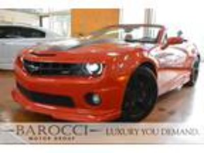 2011 Chevrolet Camaro SS 2dr Convertible w 2SS Orange, LEATHER, HEATED SEATS