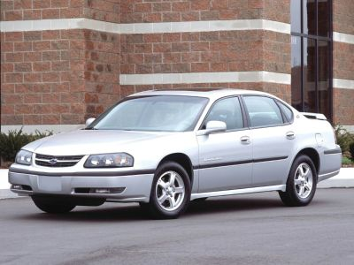 2005 Chevrolet Impala LS (Superior Blue Metallic)