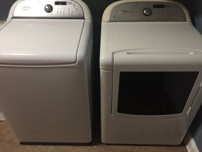 Whirlpool Washer and Dryer. Cabrio Platinum