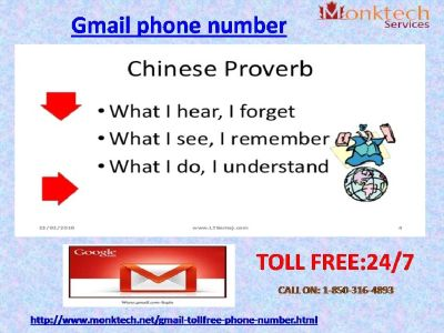 Gmail Phone Number for the Unlimited Technical Aid @1-850-316-4893