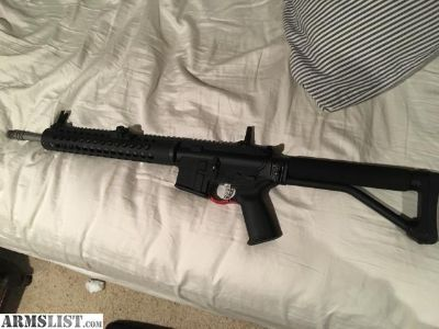 "For Trade: Professionally built 18"" SPR AR-15"