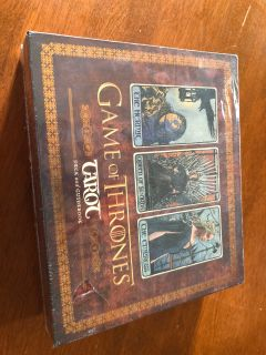 New and Sealed Game of Thrones Tarot cards
