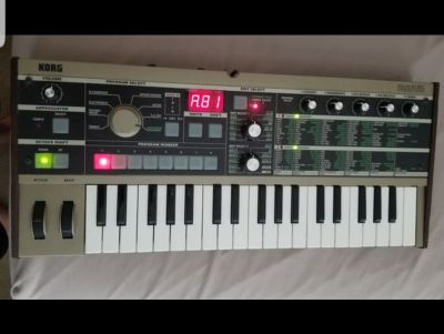 Microkorg with extras