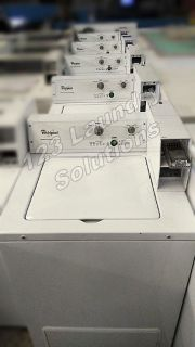 Fair Condition Whirlpool Top Load Commercial Washer Heavy Duty Series (White) CAE2763BQ0 Used
