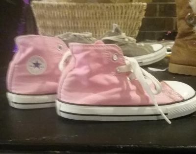 Kiddie Converse All Star High Tops size 9
