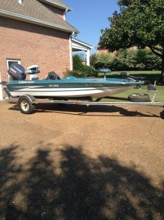 16 ft Hydro Sport Bass boat