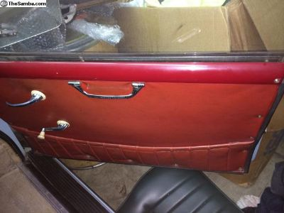 [WTB] Looking for RED Porsche 356A Interior Panels