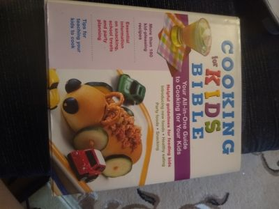 Kids cookbook hardback like new almost 300 pages