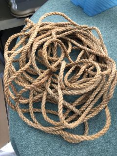Approx 35 feet of rope