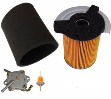 Purchase GAS GOLF CART TUNE UP KIT YAMAHA G14 300CC 4 CYCLE 1995 1996 W FILTERS FUEL PUMP motorcycle in Lapeer, Michigan, United States, for US $77.18