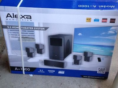 5.1 Professional Home Theater System