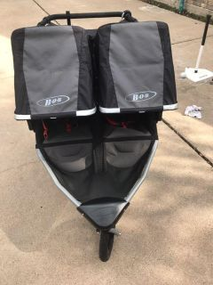 BOB stroller with baby carrier attachment