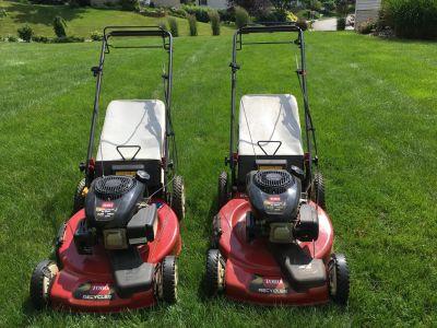 Toro self- propelled lawnmower
