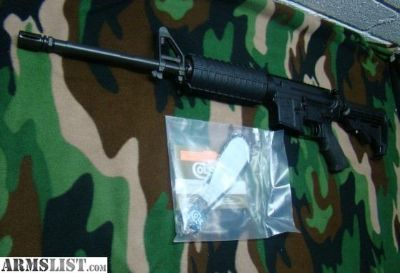 For Sale: Colt M4(5.56 AR15 2 mags )