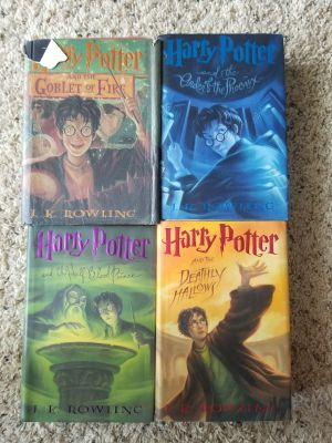 Harry Potter Book Series 4-7
