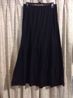 New Directions Maxi Tiered Skirt