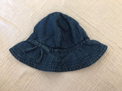Baby Gap denim sun hat. New with tags. 0-6 months.