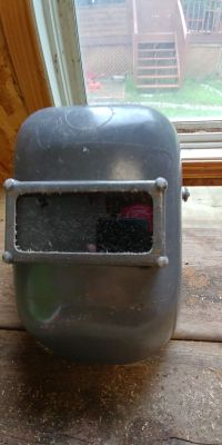 Welders Mask used