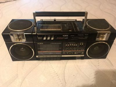 York BP900 with detachable cassette player