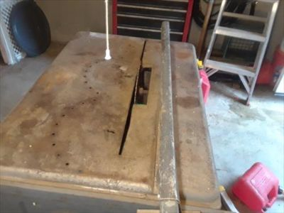 "CRAFTSMAN 10 "" TABLE SAW #109.22620 circa 1946"