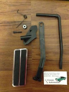 Purchase Camaro Nova Firebird Gas Pedal Kit with Linkage 9pc V8 Accelerator throttle motorcycle in Warrenville, Illinois, United States, for US $59.95